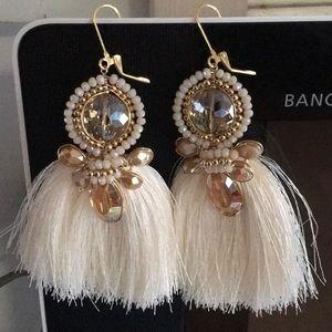 Tassel artisanal earrings 100% handmade